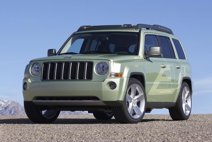 Der neue Jeep Patriot EV
